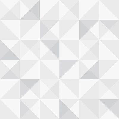 "Brewster Home Fashions Wall Vision 33' x 20.9"" Dabria Geometric Wallpaper Color:"