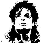 FREE , FREE , FREE STENCILS , I don't know why the only picture that I can pull up is M. Jackson ... LOL