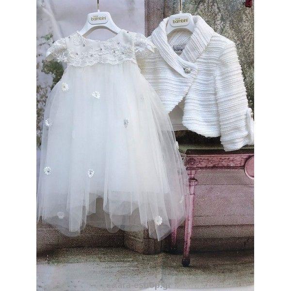 ca2d25beab9 Βαπτιστικό φόρεμα Χειμερινό Dolce Bambini οικονομικό και μοντέρνο, Βαπτιστικά  ρούχα κορίτσι Χειμερινά Χειμωνιάτικα οικονομικά-