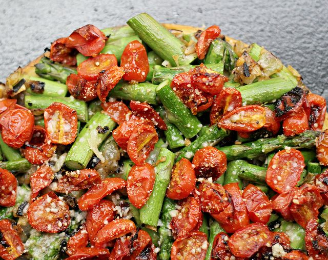 Asparagus, Tomatoes and Onions on Pinterest