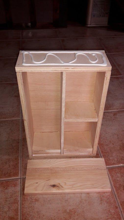 Armario Vitrina Antigua : Peque?o armario vitrina bricolaje red facilisimo