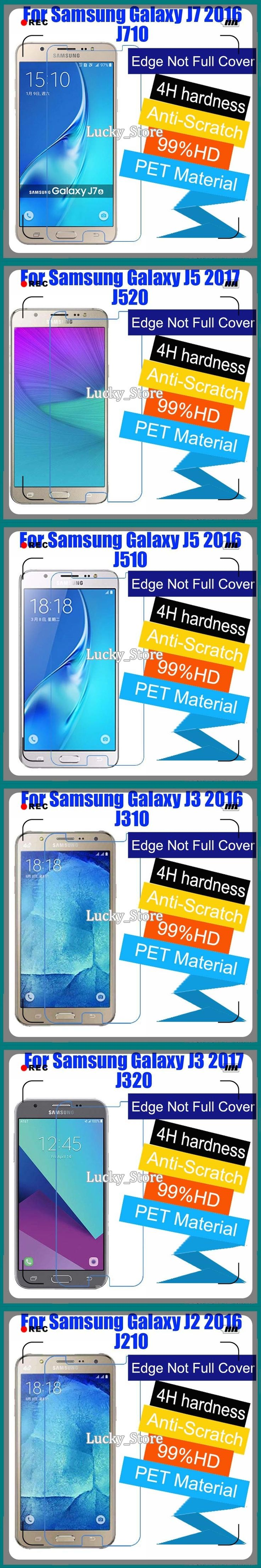 1pcs Matte High Clear Glossy Screen Protector Film For Samsung Galaxy J1 J2 J3 J5 J7 2016 J3 J5 J7 2017  Screen Protective Film