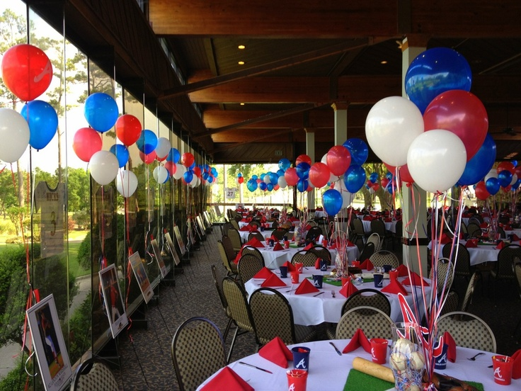 High school banquets are one of our specialties party for Athletic banquet decoration ideas
