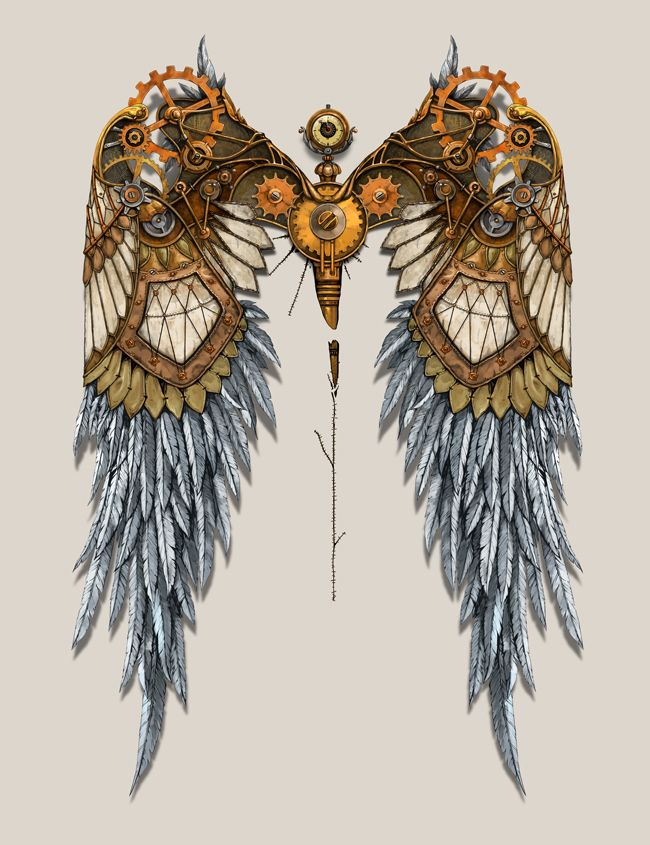 Image result for steampunk wings