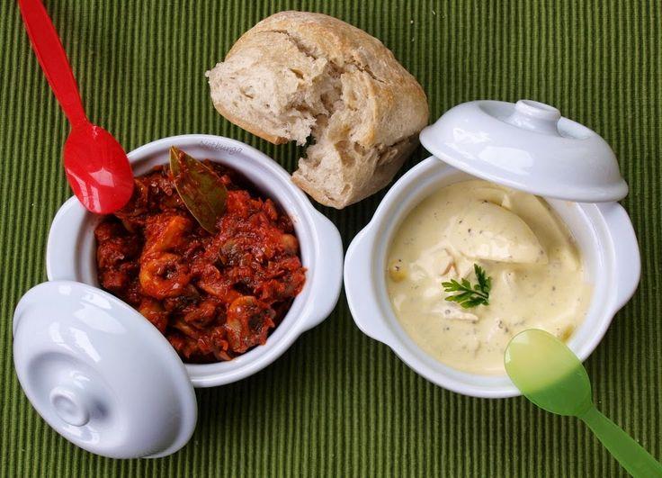 Notburga konyhája: Svéd gombasaláta, majonézes tojássaláta