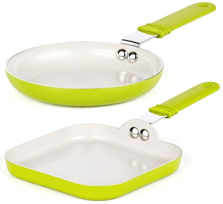 2-Piece Ceramic Coating Non-Stick Frying Pan/Skillet set
