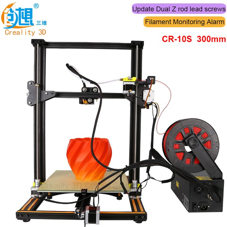 Upgrade Dual-Leading-screws Rod CREALITY 3D CR-10 Printer Auto Resume Print after Power off/Filament monitoring alarm protection