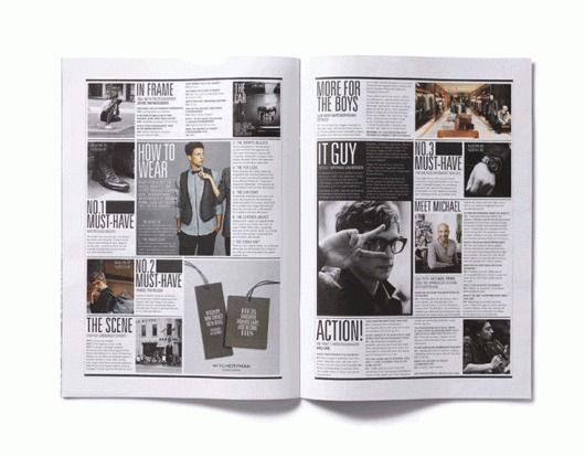 .: Graphic Design, Layouts Magazine Print, Grid Layout, Magazine Spreads, Design Magazine Layout, Editorial Design, Eskimo, Magazine Layouts, Magazine Designs