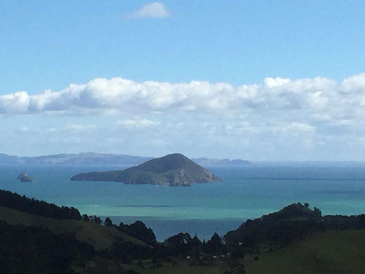 View from Coramandel  Peninsula, New Zealand