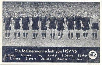 HANNOVER 96 Postkarte von 1938