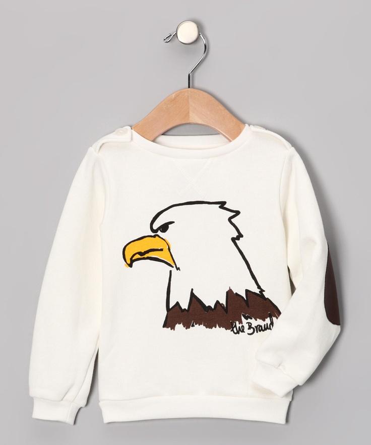 Off-White Eagle Sweatshirt - Infant, Toddler & Kids