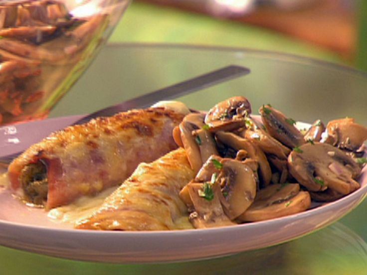 Endive Gratin with Ham and Gruyere Cheese recipe via Food Network