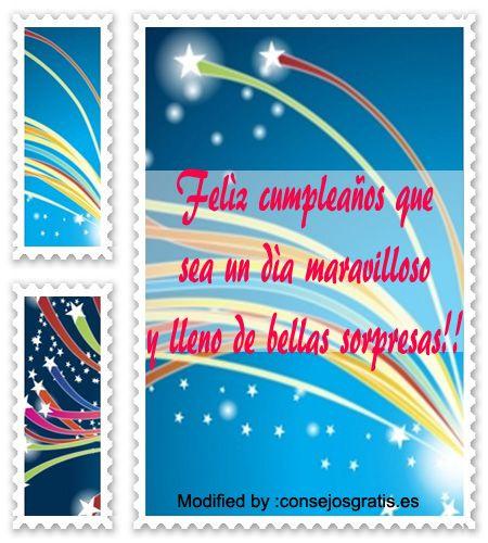tarjetas con saludos de felìz cumpleaños,postales con felicitaciones de…