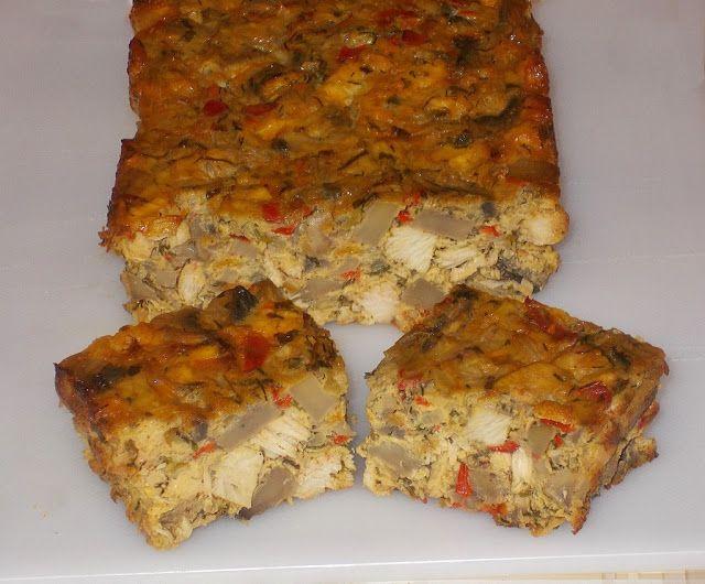 Bunătăţi din bucătăria Gicuței: Drob de ciuperci si piept de pui