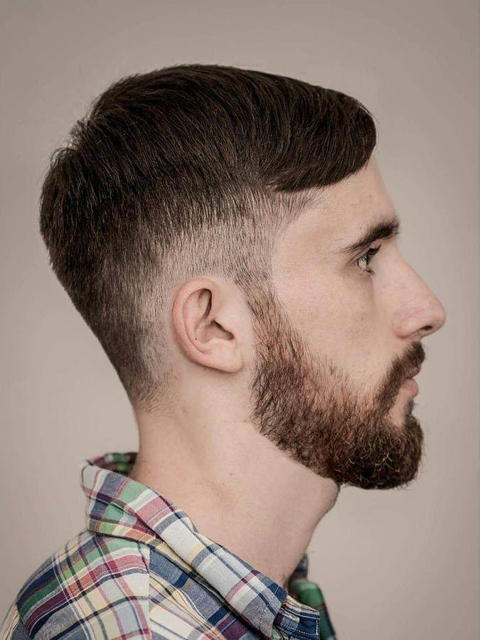 Neat Swept Drop Fade Haircut