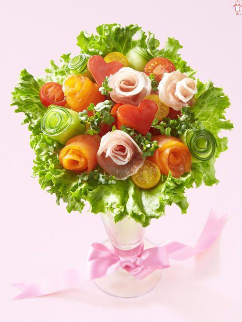 ハートのブーケサラダ|とっておきレシピ|キユーピー