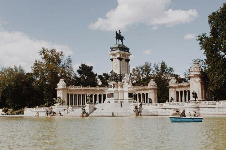 Parque del Retiro, Madrid, Spain May 2013