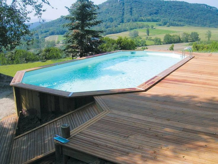 16 best Pileta images on Pinterest Raised pools, Above ground