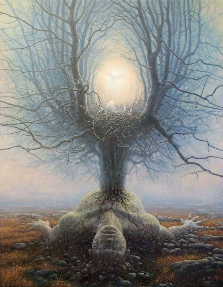 Tomasz Alen Kopera, 1976 ~ Magical Surrealism painter | Tutt'Art@ | Pittura * Scultura * Poesia * Musica |
