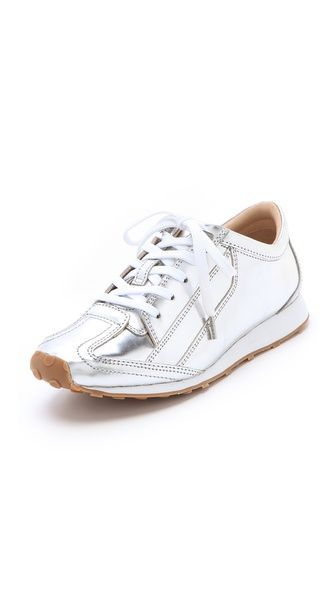 Elizabeth And James Evva Metallic Sneakers 275 Social Media In