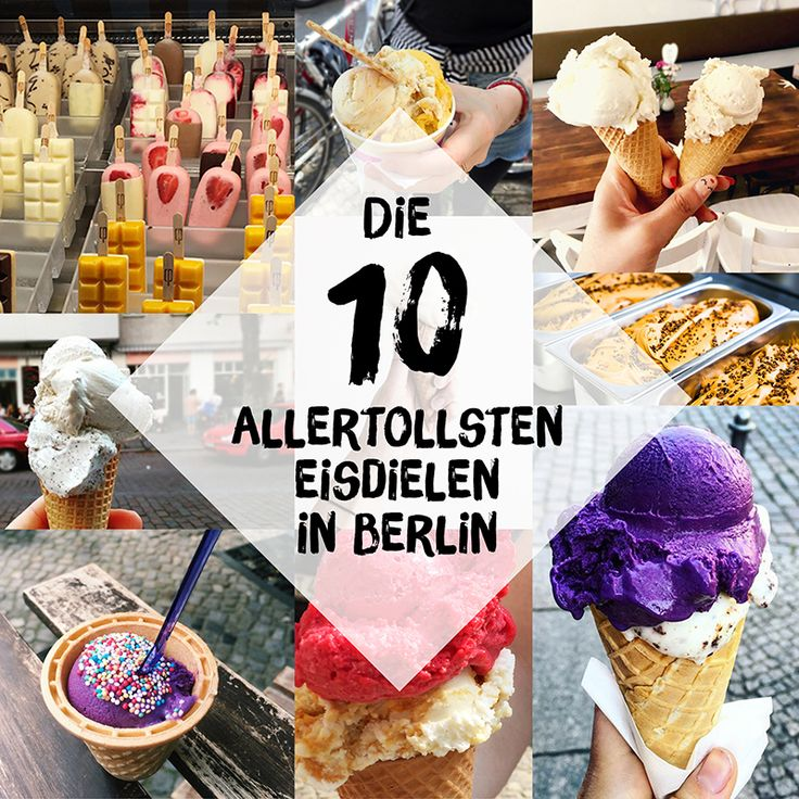 Eisdielen in Berlin