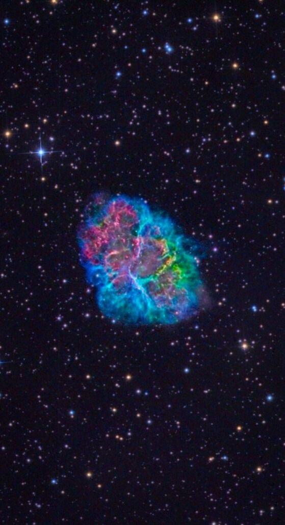Crab Nebula Hubble Credit: NASA, Hubble, color/effects ...