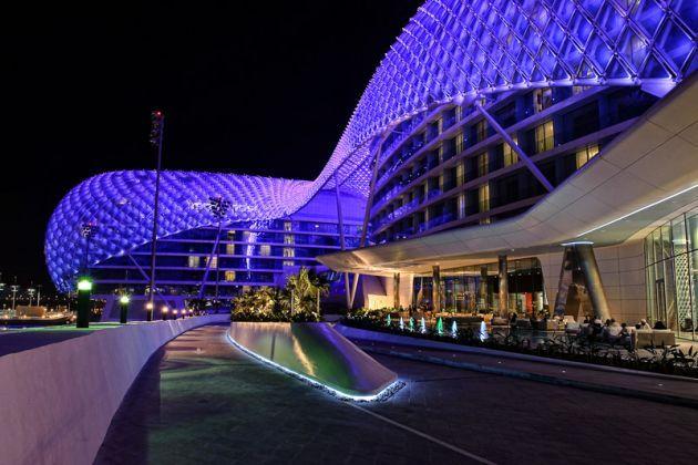 YAS Hotel in Abu Dhabi