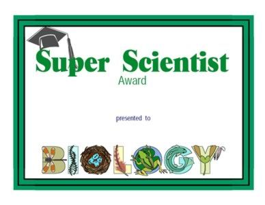 48 best certificates images on pinterest classroom ideas super scientist certificate printable science yelopaper Images