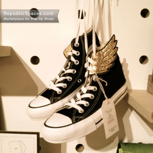 Converse with Wings -- Like Percy Jackson ♥ I would spend all the money in the world to buy these.