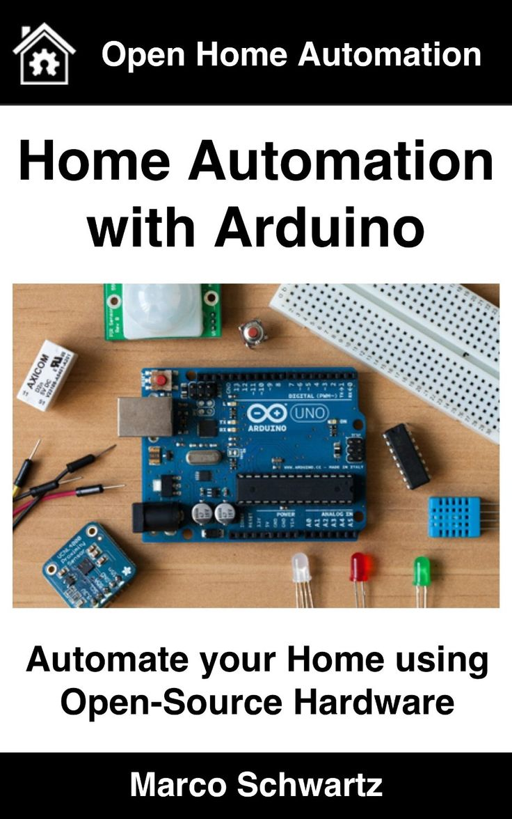 125 Best Projects Images On Pinterest Raspberries Computers And Turn A Dc Computer Fan Using Solidstate Relay Mydaq Home Automation With Arduino Automate Your Open Source Hardware By Marco Schwartz