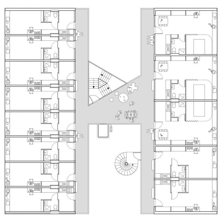 Plan De Foyer Universitaire : Les meilleures id�es de la cat�gorie logement �tudiant