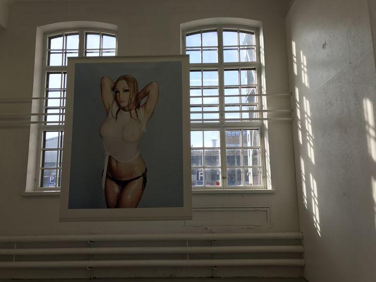 Aurora Reinhard: Venus #3, 2017.  Zetterberg Gallery, Helsinki 2017.