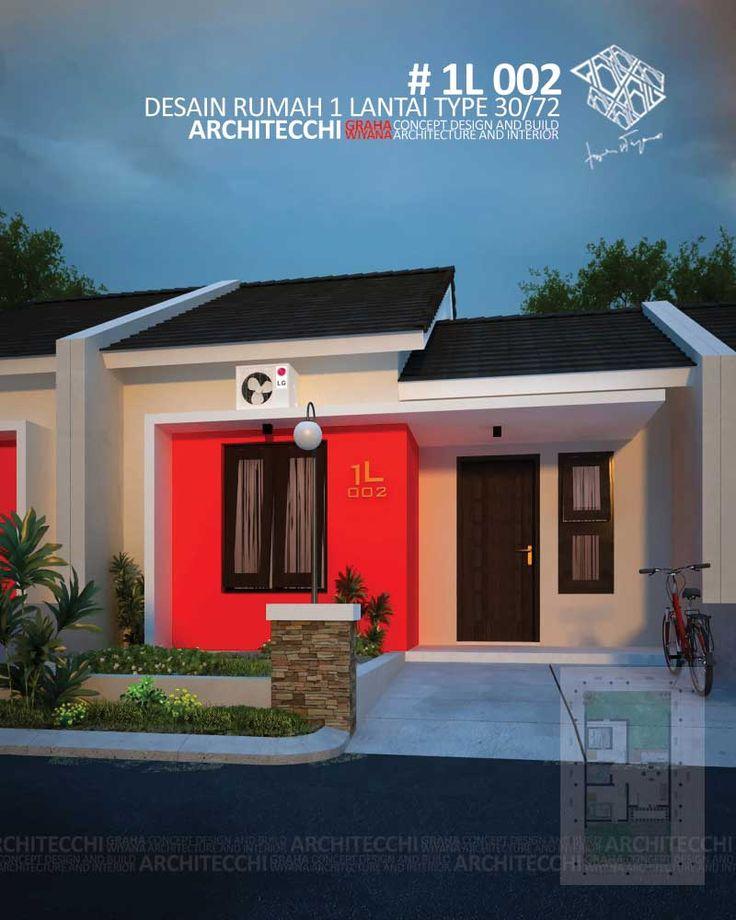 Desain Rumah Minimalis 1 Lantai Type 30 Lebar 6 Meter