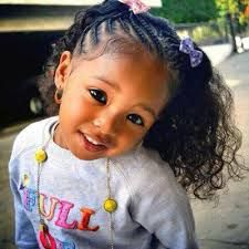 hairstyles for black little girls with medium hair - Google Search