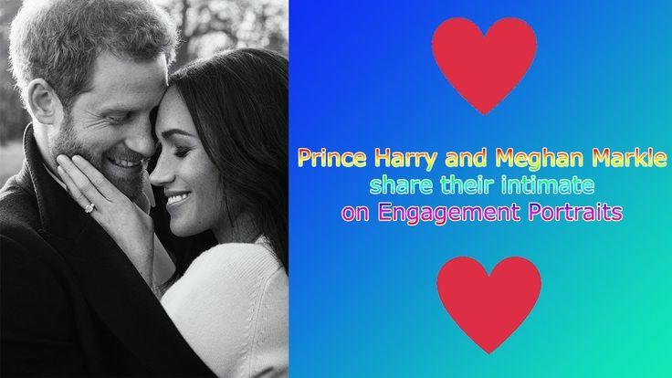 Meghan Markle & Prince Harry's Engagement Portraits - SHOWBIZ GOSSIP