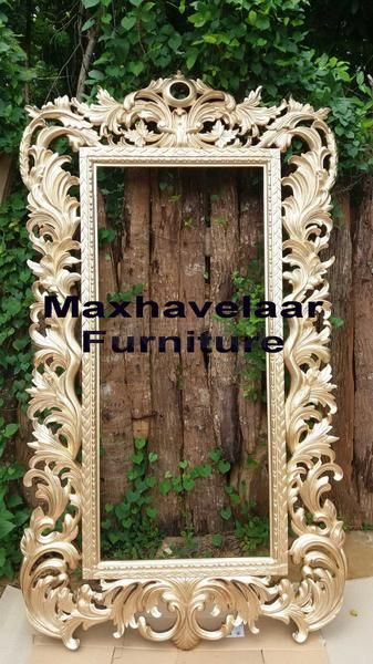 Cermin ukir Baroq khas Jepara. Kunjung: www.maxhavelaarfurniture.com