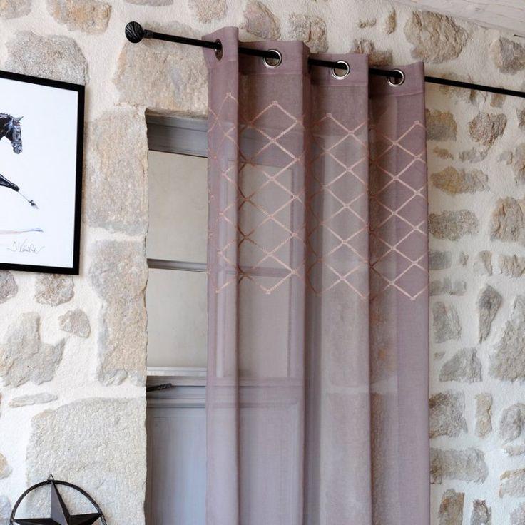 les 25 meilleures id es de la cat gorie voilages blancs sur pinterest voilage blanc rideau. Black Bedroom Furniture Sets. Home Design Ideas