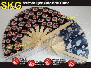Kipas Sifon Kecil Glitter HUB: 0852-2855-8701 (WA/Telp) #souvenirkipas #kipassifon #kipasbatik #kipassifonberbagaiwarna #kipaslucu #kipascantik #kipasunik #kipasmurah #KipasSifon #HargaSifon #desainundanganPernikahan #undanganPernikahan