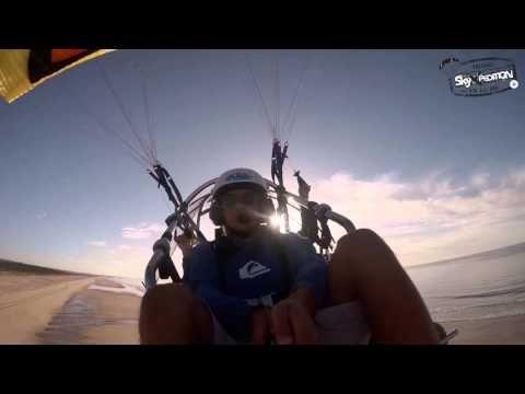 #SkyXpediton #RiaFormosa #Paratrike  António Corte Real, 1º voo