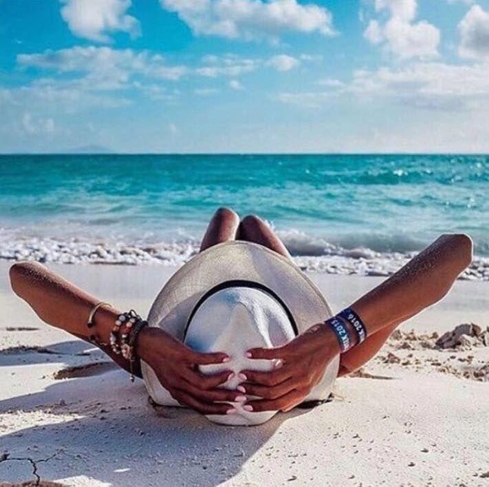 Креативные пляжные фото
