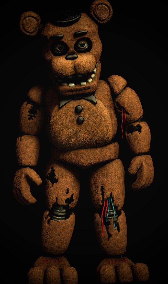 Withered Freddy V2 Full body [SFM FNAF] by TRAWERT | FNAF