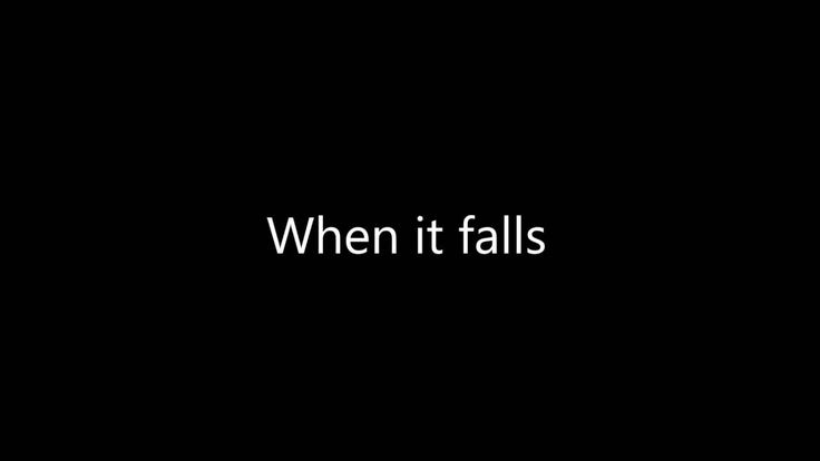 RWBY Volume 3 Soundtrack - When It Falls - Lyric Video