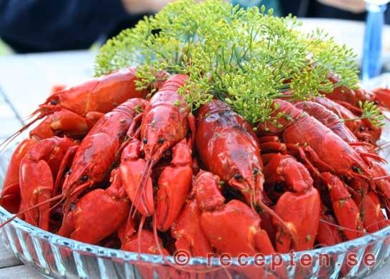 Swedish Crayfish Yum!