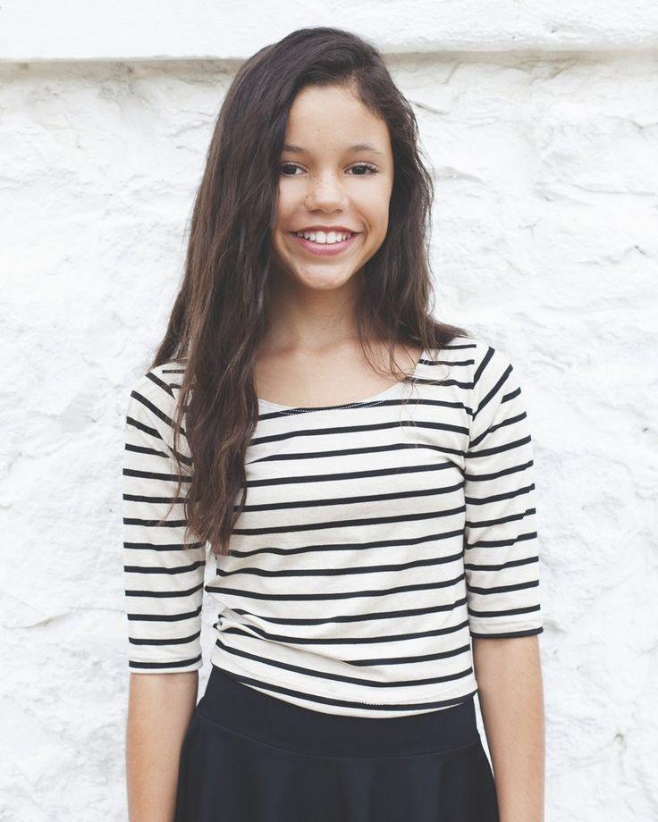 Jenna's half sleeve's stripes top