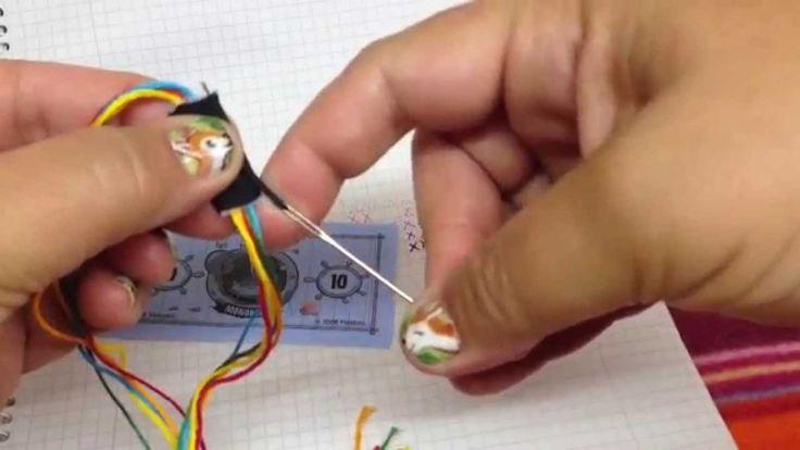 Naamarmband uitleg hoe deze te maken - how to make a name bracelet