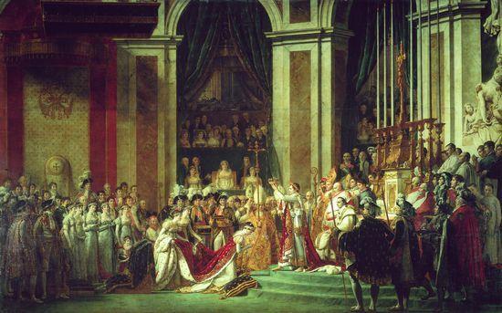 Sacre de Napoléon Ier.Mai 1804