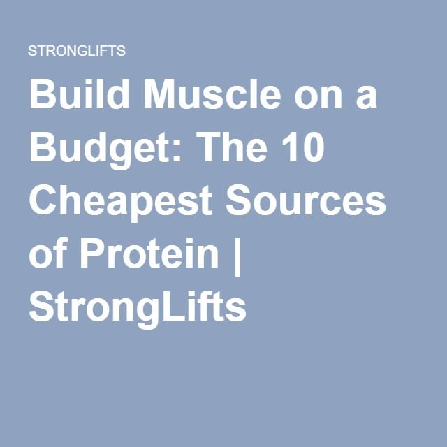 The 25+ best Cheapest protein powder ideas on Pinterest   Cheap ...