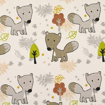 Cotton Baby Fox - Bomuld - uldhvid