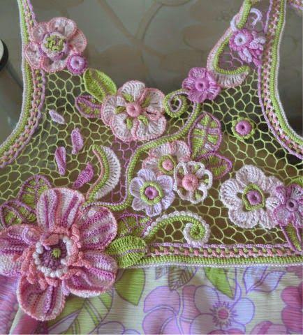Mejores 433 imágenes de tejido irlandes en Pinterest | Encaje ...