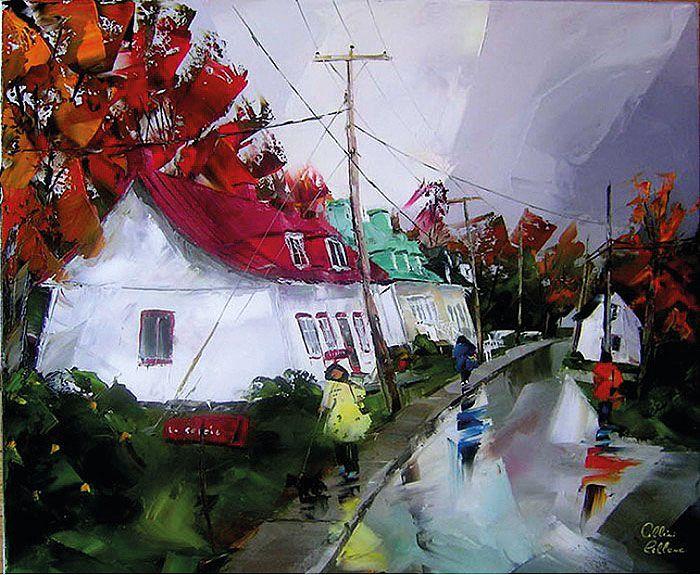 Единство мира и красота каждой минуты жизни города – вот то, что так привлекает в пейзажах Альбини Лебланка (Albini Leblanc). http://actualartist.ru/maslo/krasota-minuty-albini-leblanc.html